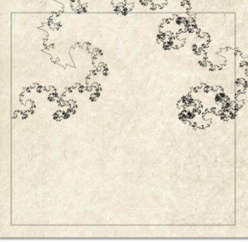 A fractal ocean wave