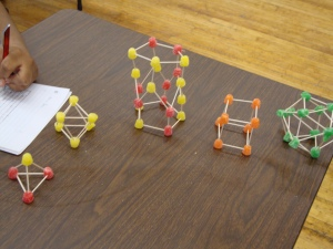 Toothpick and Gumdrop Polyhedra