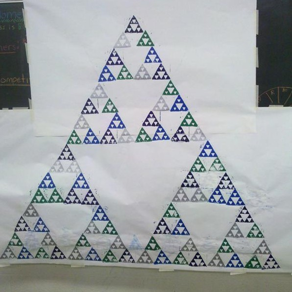 Sierpinski Triangle Print – Sierpinski Triangle Worksheet