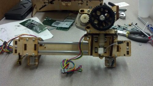 printrbot bridge + extruder
