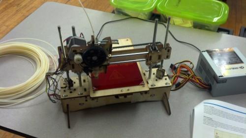 3D Printer, complete
