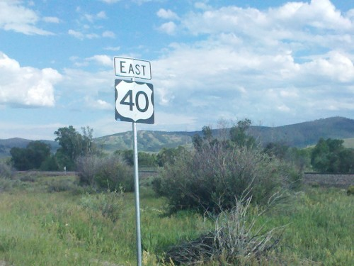 Rte 40 in Denver, CO
