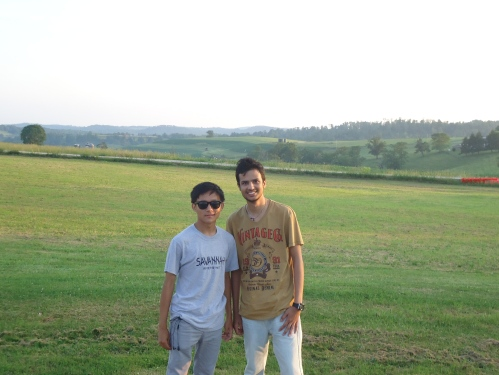 Abhishek & Bhola in rural PA