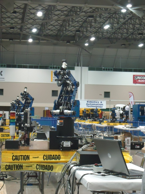 Line of robots