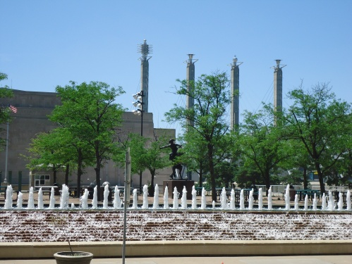 Fountains near Marriott, KC