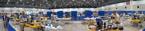 The entire robotics & automation contest area