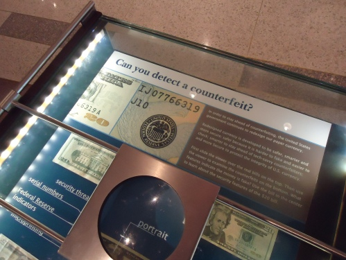 Exhibit: Counterfeit Bills