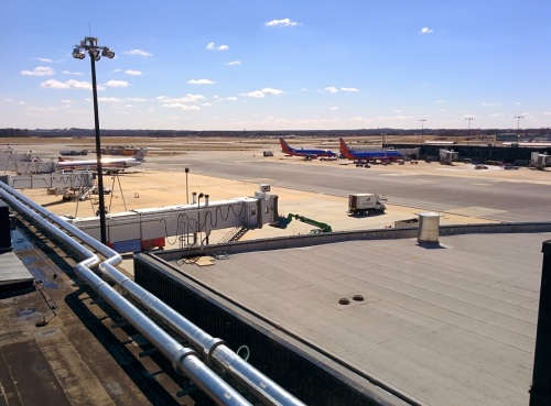 View from the Roof of BWI